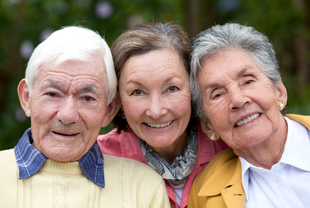 Elderly couple and their daughter discuss end of life decisions